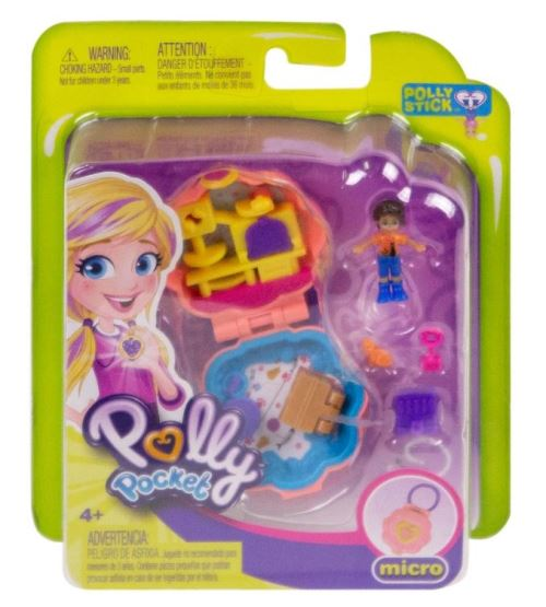Poupée Polly Pocket Shani et capitaine Trouillard