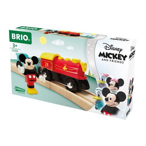 Train à pile Brio Mickey Mouse