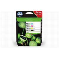 Pack de 4 cartouches d'encre HP 903XL Noir, Cyan, Magenta, Jaune
