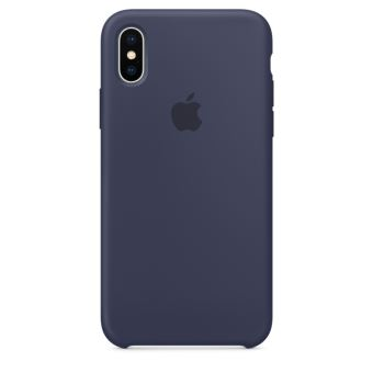APPLE IPHONE X SILICONE CASE MIDNIGHT BLUE