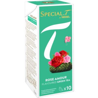 NESTLE SPECIAL T ROSE AMOUR 10 CAPS