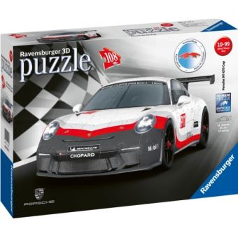 Porsche 911 GT3 Cup Puzzle 3D Ravensburger