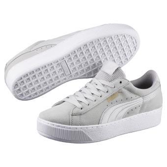 Vikky Femme Puma Platform Taille Chaussures Grises 37 dsrtQh