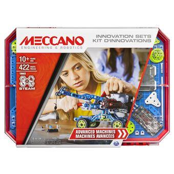 Kit d'inventions Meccano Set 7 Moteurs et Engrenages
