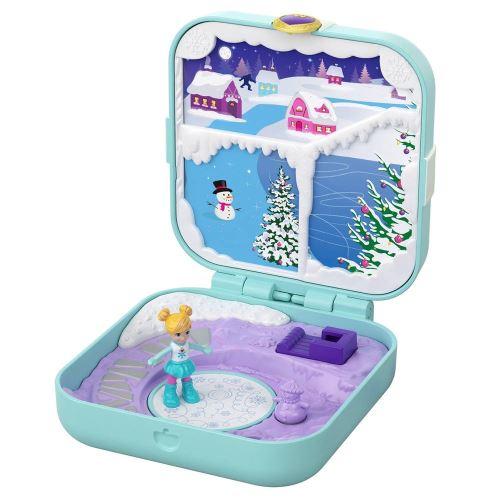 Coffret avec poupée Polly Pocket Polly au Pôle Nord