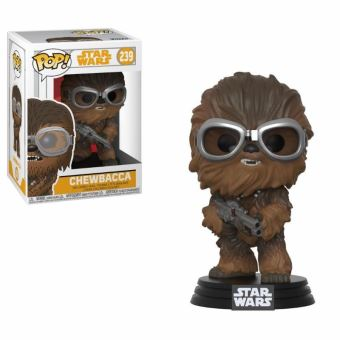 Figurine Funko Pop Han Solo A Star Wars Story Chewbacca avec lunettes 9 cm