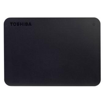 Toshiba Canvio Basics - Vaste schijf - 4 TB - extern (draagbaar) - USB 3.0 - zwart