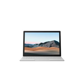 "PC Ultra-Portable Microsoft Surface Book 3 Ecran tactile 13,5"" Intel Core i5 8 Go RAM 256 Go SSD Platine"