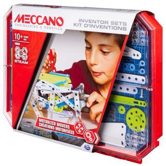 Set 5 kits d'inventions Meccano