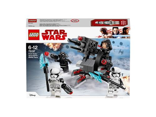 LEGO® Star Wars™ 75197 Battle Pack experts du Premier Ordre