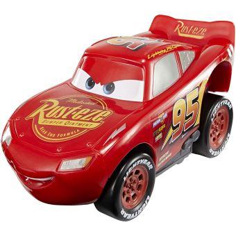 Voiture cars 3 press et go flash mcqueen mattel voiture - Flash mcqueen et mack ...
