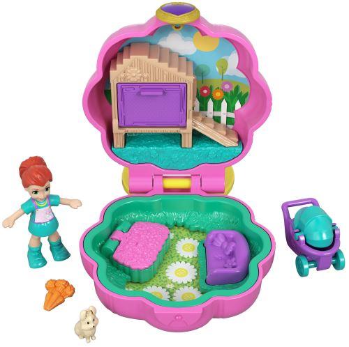 Playset Polly Pocket La maison lapins de Lila