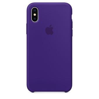 Coque en silicone Apple Ultraviolet pour iPhone X