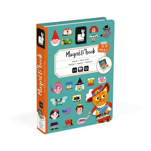 Jeu éducatif magnétique Janod Magneti'book Contes