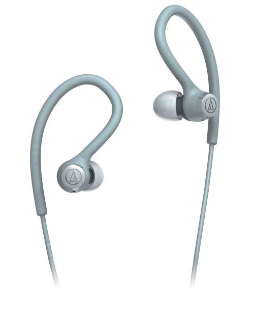 Ecouteurs filaire Audio-Technica ATH-SPORT10 Gris