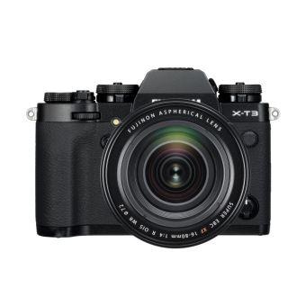 Appareil photo Hybride Fujifilm X-T3 Noir + Objectif XF 16-80 mm f/4 Noir