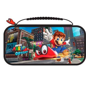 Pochette de transport BigBen RDS Deluxe Officielle Mario Odyssey pour Nintendo Switch