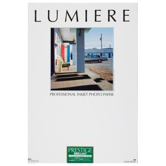 LUMIERE papier prestige 310gr rc brillant a3+ - 32,9 x 48,3 cm - 25 feuilles