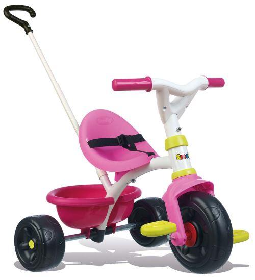 Tricycle évolutif Smoby Be fun Rose