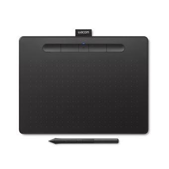 Tablette Wacom Intuos Noir avec Stylet Medium Bluetooth