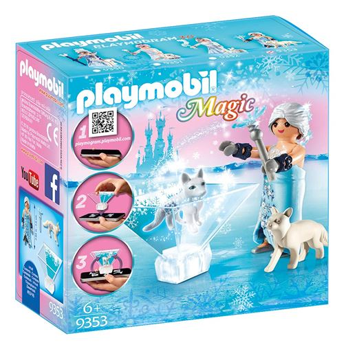 Playmobil Magic Le palais de Cristal 9353 Princesse des glaces