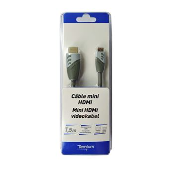 TEMIUM CABLE MINI HDMI 1.5M