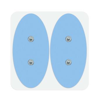 Pack de 6 électrodes ovales Bluetens Surf Bleue