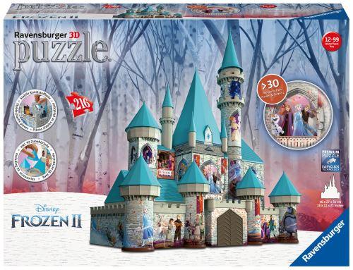 Puzzle 3D Ravensburger Château de La Reine des Neiges Disney Frozen 2