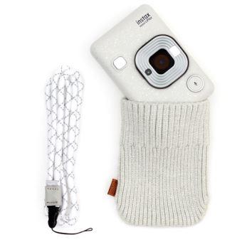 Fujifilm Mini Instax LiPlay Stone White + Pack