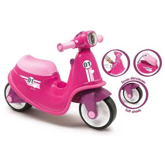 Porteur scooter Smoby Rose