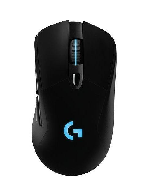 Souris Gaming sans fil Logitech G703 Hero Lightspeed Noir