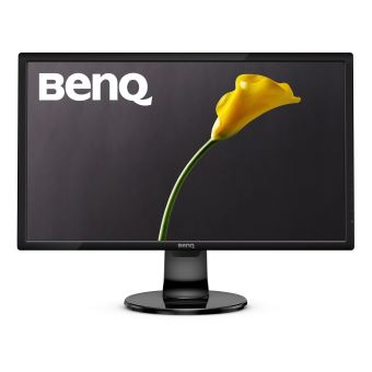 "BenQ GL2460BH - LED-monitor - 24"" - 1920 x 1080 Full HD (1080p) - TN - 250 cd/m² - 1000:1 - 1 ms - HDMI, DVI-D, VGA - luidsprekers - glanzend zwart"
