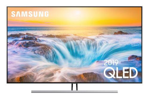 """Plus de détails TV Samsung 55Q85R QLED 4K Full LED Gold Smart TV 55"""""""