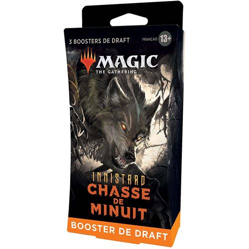 Pack de 3 Boosters Draft Collector Magic The Gathering Innistrad W