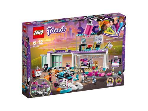 LEGO® Friends Heartlake 41351 L'atelier de customisation de kart