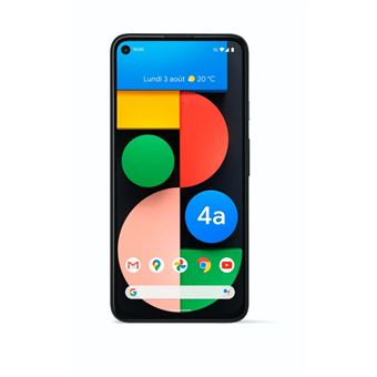 Smartphone Google Pixel 4a 5G 128 Go Simplement Noir
