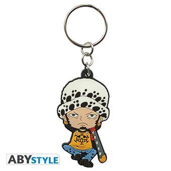 6 cm One Piece Porte-clés PVC Figurine 3D Monkey D Luffy