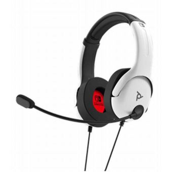 OFFICIAL PLAYSTATION WIRED HEADSET LVL40 SWITCH WHITE