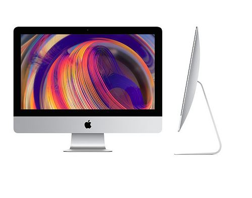 Nouvel iMac Apple 21,5 Ecran Retina 4K 1 To 8 Go RAM Intel Core i3 quadricur 3,6 GHz Radeon Pro 555X MRT32FN 2019