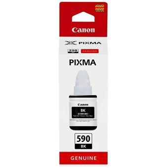 Bouteille d'encre Canon Pixma GI-590BK Noir 135 ml