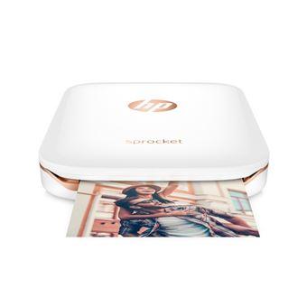 HP Sprocket Fotoprinter Plus White