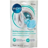 Pack de 3 tablettes nettoyantes antiodeurs Wpro pour lave-linge