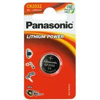 Pile bouton Panasonic CR2032
