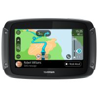 GPS Moto TomTom Rider 50 Cartographie Europe 24 pays, 3 mois de Traffic et de zones de danger, Appel Mains-Libres
