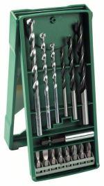 Set mélangé Mini-X-Line Bosch 15 pièces