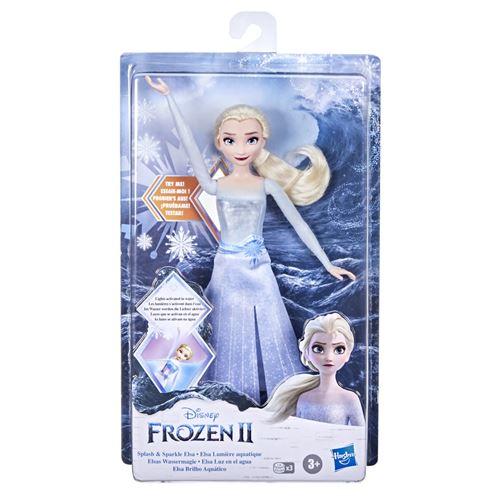 Poupée Disney Frozen La Reine des Neiges 2 Elsa Lumières Aquatiques