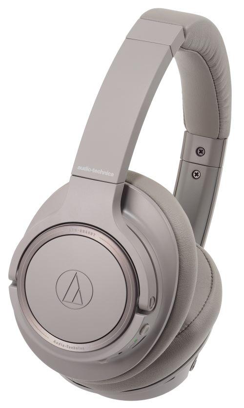 Casque à réduction de bruit Audio-Technica ATH-SR50BT Bluetooth Gris