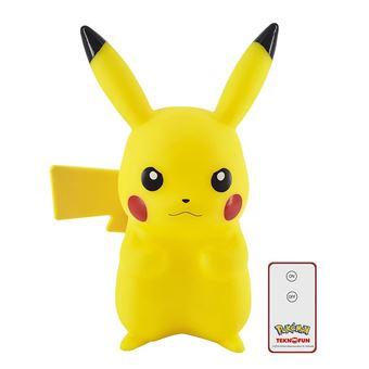 Lampe LED Pokémon Pikachu avec télécommande 25 cm