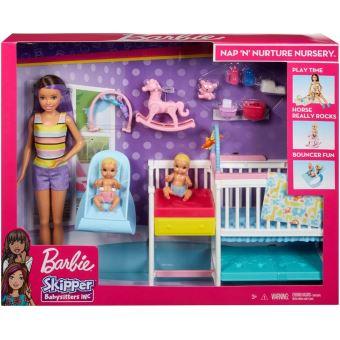 Playset Barbie Skipper La Chambre des Jumeaux Mattel