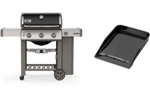 Barbecue Weber Genesis II E-310 12800 W Noir et Gris et Plancha